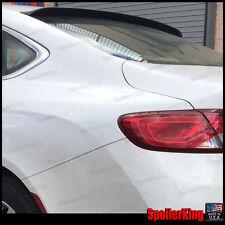 SPKdepot 380R (Fits: Chrysler 200 2015-on 4dr) Rear Roof Window Spoiler Wing