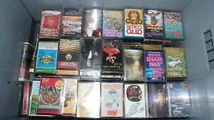50 originale Musikkassetten mit Einleger Konvolut Sammlung Top - Flop