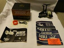 Vintage Abu Cardinal 4 Zebco Reel w/Box-Made in Sweden Rare