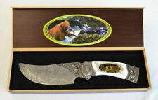Frost Cutlery Ornamental Bear Fix Blade Knife & Case (2455)