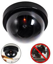 Dummy Kamera Attrappe mit Objektiv Videoüberwachung Fake Camera rotes LED Licht