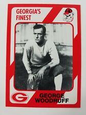 George Woodruff Georgia Bulldogs UGA Dawgs 89 Collegiate Collection Head Coach