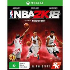 NBA 2K16 2016 XBOX ONE Basketball Games XBox 1 New Sealed