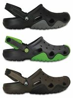 Crocs Mens Swiftwater Croslite Slip Ons Clogs