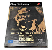 Peter Jackson's King Kong LE Steelbook PS2 PAL *Complete*