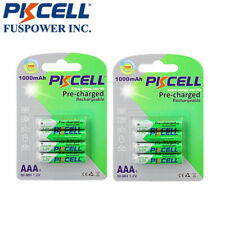 8x Pre-charged NiMh AAA 1000mAh 1.2V NI-MH 3A Rechargeable LSD Battery PKCELL