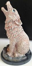 HOWLING WOLF INCENSE CONE BURNER - Unique Lisa Parker Design - Same Day Despatch