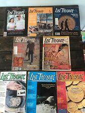 8 Vintage Lost Treasure Magazines 1980s 1990s Treasure Hunting Metal Detecting