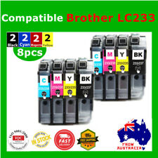 8x Generic LC233 233 ink cartridge for Brother MFC J4120 J4620 J5320 J480 J680