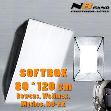 Softbox 80x120 für Simock / Walimex VC / N8 EX & Mythos