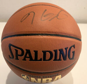 KEVIN DURANT SIGNED SPALDING NBA BASKETBALL AUTOGRAPH JSA  # K78681 Nets,Thunder