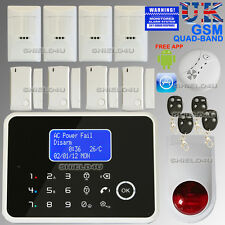 LCD wireless Security TEMP GSM Autodial Home Casa Ufficio Antifurto allarme Intruder