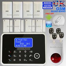 LCD wireless Security TEMP GSM Autodial Home Casa Ufficio Antifurto allarme Intruder