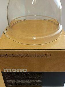 Mono Ersatzglas 1,5 l Filio original zur Teekanne Glas u.  Earl Grey
