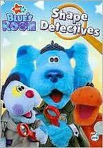 BLUE'S CLUES: BLUE'S ROOM - SHAPE DETECTIVES - DVD - Region 1 - Sealed