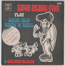 """THE DAVE CLARK FIVE RARE ISRAEL ISRAELI ONLY PS 7"""" 45 EP HEBREW STICKER ON COVER"""