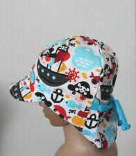 Piraten Sommerhut Gr.48-51 Sommermütze-Schirmmütze Jungen- Kinder DaWanda
