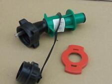Motorrad Sicherheits Füllrohr für unsere 3 L Benzinkanister grün/schwarz