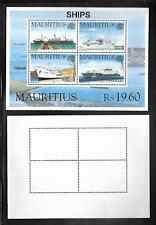 SHIPS SOUVENIR SHEET MINT  FULL GUM NEVER HINGED.DATED 30SE1996
