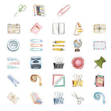 46X small item collection paper stickers diy diary decor for album scrapbookings