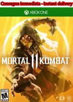 Mortal Kombat 11 Standard Edition Xbox One NO CD/KEY LEGGERE LA DESCRIZIONE