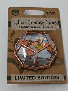 Gus Jaq Cinderella Terrarium Series Where Fantasy Grows Disney LE Pin