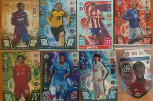 Topps Match Attax Champions League 21/22 Limited Edition & CRYSTAL Cards
