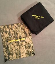 HOMELAND TV show THROW BLANKET and CARRYING PACK — Season 1 Promo NEW