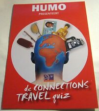 Advertising Connections Humo Trael Quiz - unposted