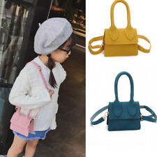 Delicate Mini Square Bag Simple handbag Kids Girls Scrub Shoulder Bag For Gifts