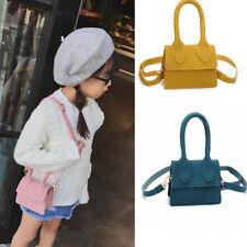 Delicate Mini Square Bag Simple handbag Kids Girls Scrub Shoulder Bag For Gifts