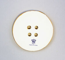 Porcelain Jewellery Pendant Button Gold Wagner & Apel D6, 2in 9942339