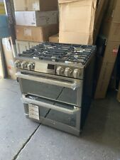 New listing Lg Signature 7.3 cu. ft. Smart Slide-In Double Oven Dual-Fuel Range