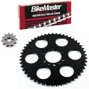 JT Chain/Sprocket Kit 12-49 Tooth 520 Pitch 72-0723 for Yamaha YZ125 1977-1979