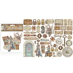 Lady Vagabond Stamperia Die-Cuts pack of 44 pieces