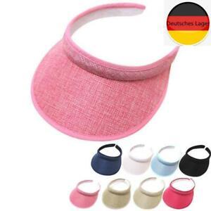 Sun Visor Adjustable Sports Tennis Golf Headband Cap Unisex Mens Womens Hat Cap