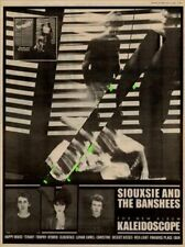 Siouxsie & The Banshees UK Kaleidoscope LP advert 1980 MM-HJKL