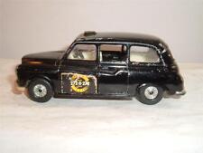 CORGI jouet Taxi Londres noir en état utilisé vintage faites défiler pour les photos