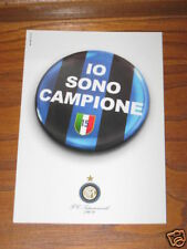 CARTOLINA POSTCARD INTER IO SONO CAMPIONE D'ITALIA @@