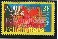 TIMBRE FRANCE OBLITERE N° 3308 FELICITATIONS  / Photo non contractuelle