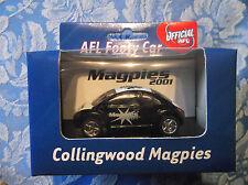 AFL Collingwood Magpies Beetle Footy Car