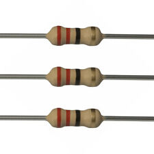100 x 22 Ohm Carbon Film Resistors - 1/4 Watt - 5% - 22R - Fast USA Shipping