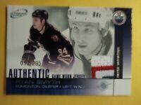2003 Atomic Ryan Smyth Great 3 colors Patch /295 Edmonton Oilers