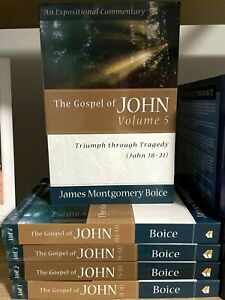 The Gospel of John (5 Vol Set) by James Montgomery Boice
