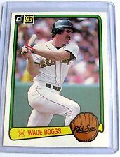 1983 Donruss WADE BOGGS BOSTON RED SOX #586 BC#63 JM
