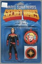 CAPTAIN MARVEL & the carol corps #1 ACTION FIGURE variant SECRET WARS MARVEL NM