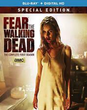 New Sealed Fear The Walking Dead - Complete First Season Blu-ray + Digital HD
