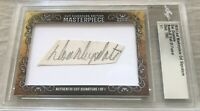Don Drysdale 2019 Leaf Masterpiece Cut Signature 1/1 autographed signed card
