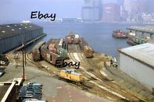 Original Slide New York Dock 51 Brooklyn Bush Terminal Sbk Subway Fultonv1969