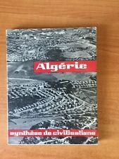 ALGERIE SYNTHESE DE CIVILISATIONS